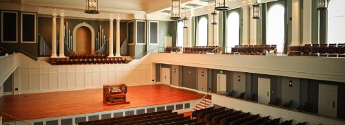 Belmont University's McAfee Concert Hall- where the release show will take place on Monday, June 15th