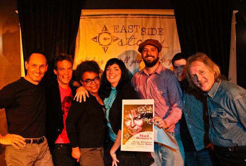 Marc Stowe, Scott Douglass, Dawn Freeman, Kat Martin Ray, Chuck Beard, Mark Sloniker, Tom Eizonas photo credit: John Brassil