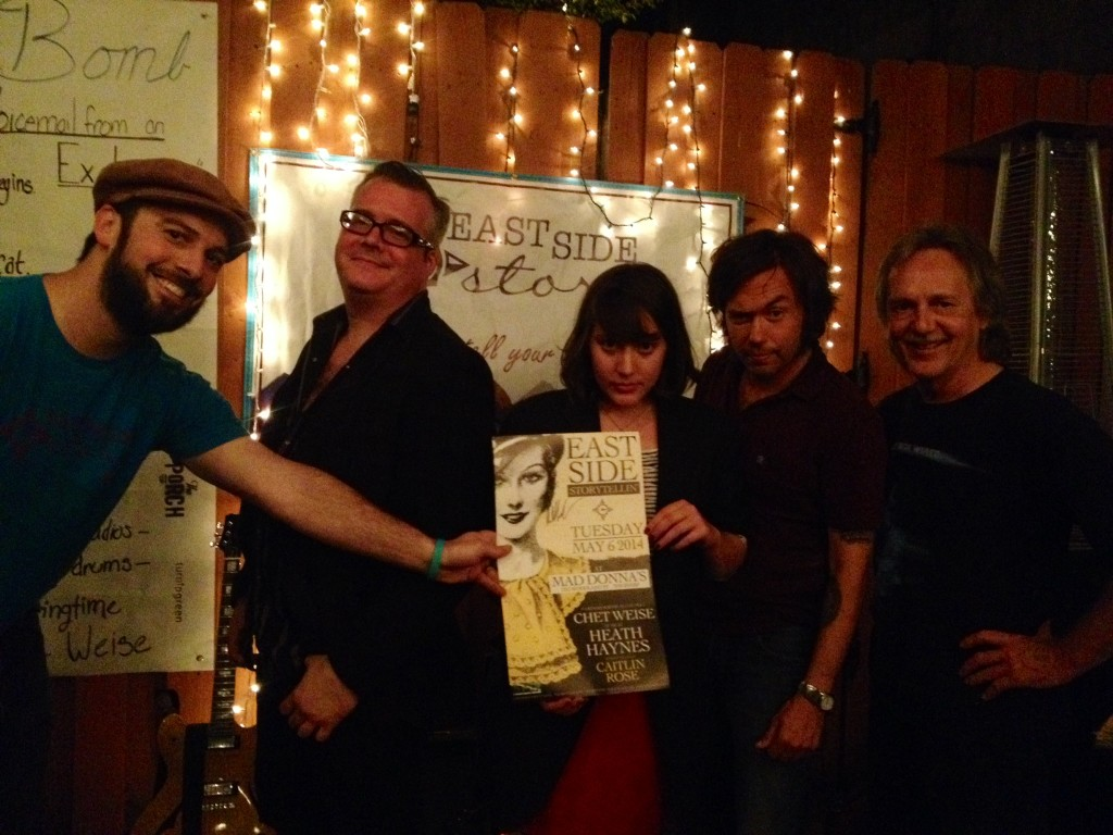 Chuck Beard, Heath Haynes, Caitlin Rose, Chet Weise, and Tom Eizonas