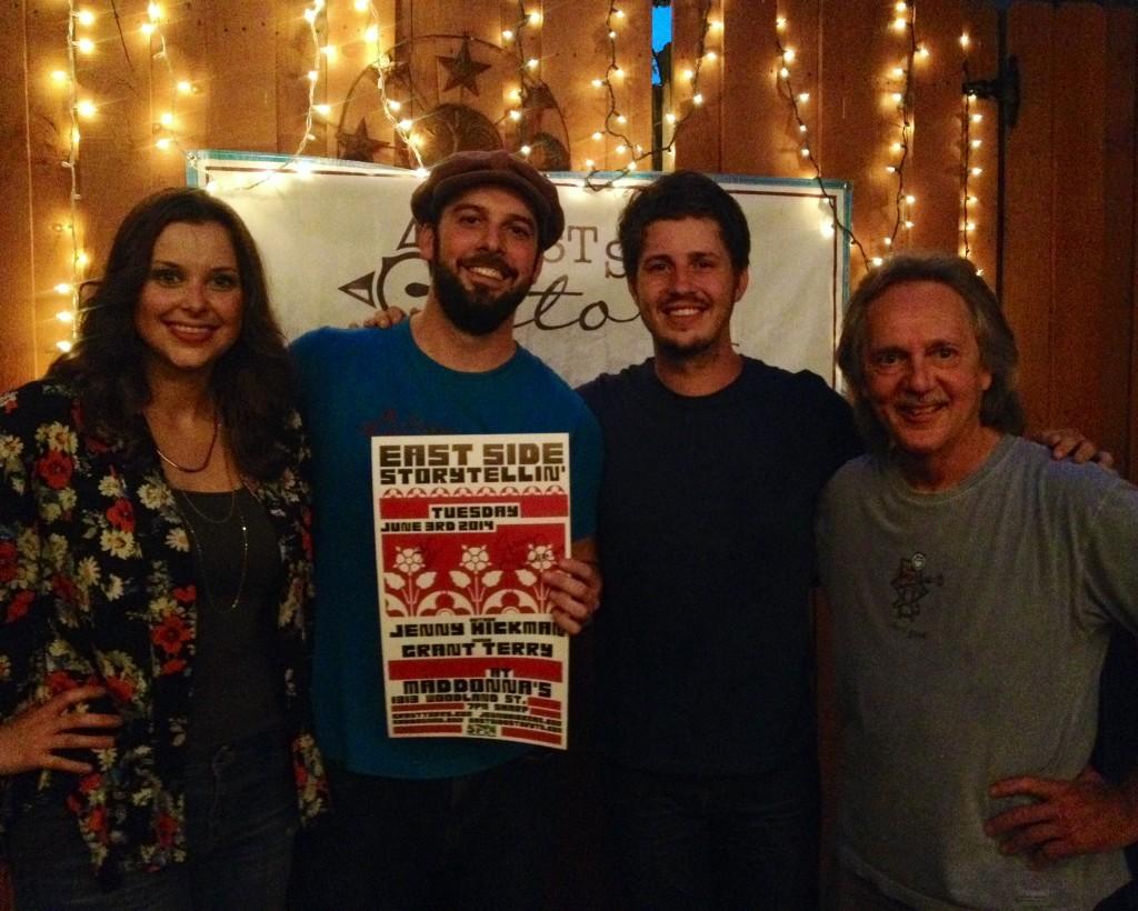 Jenny Hickman, Chuck Beard, Grant Terry, and Tom Eizonas