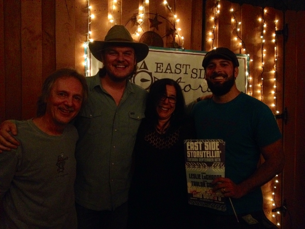 Tom Eizonas, Taylor Corum, Leslie LaChance, and Chuck Beard