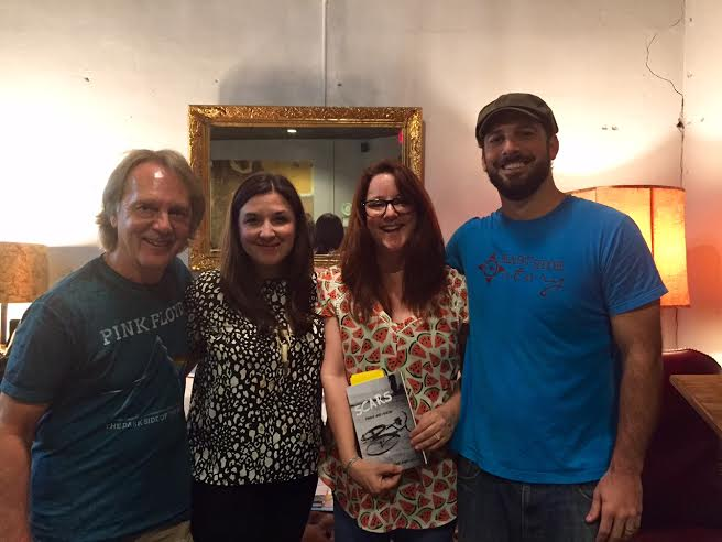 Tom Eizonas, Eryn McHugh, Nadia Bruce-Rawlings, and Chuck Beard