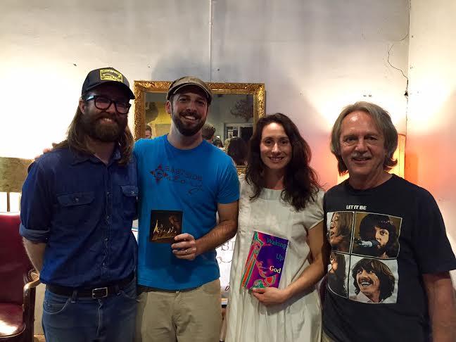 Aaron Lee Tasjan, Chuck Beard, Christine Hall, and Tom Eizonas