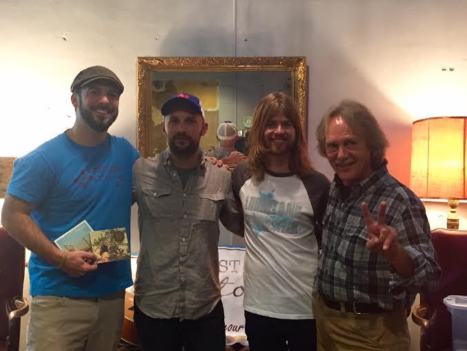 Chuck Beard, W.S. Lyon, Andrew Leahey, and Tom Eizonas