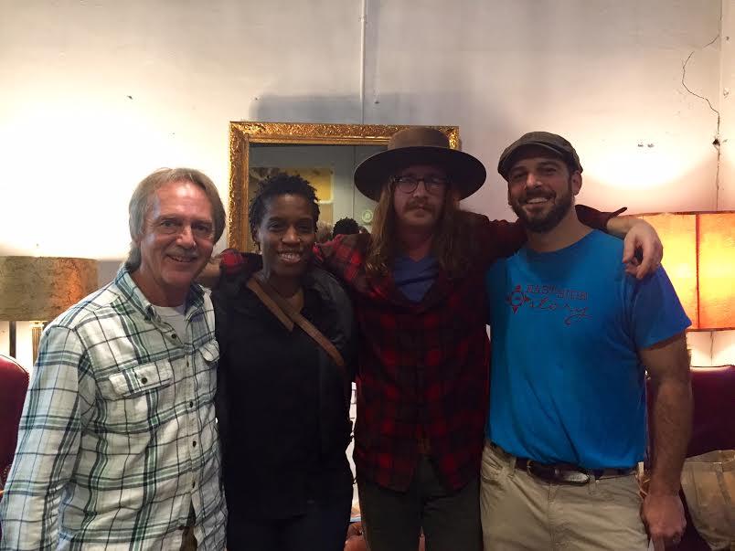 Tom Eizonas, Melissa Gordon, Glen Martin, and Chuck Beard