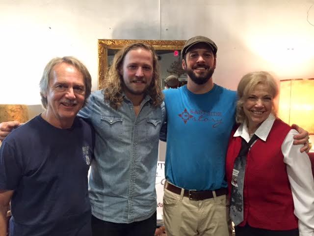 Tom Eizonas, Austin Manuel, Chuck Beard, and Kathleen Cosgrove