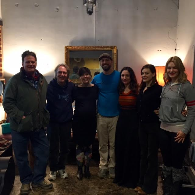 Bret MacFadyen, Tom Eizonas, Kendra DeColo, Chuck Beard, Lauren Shera, Kristin Weber, and Shelby Means