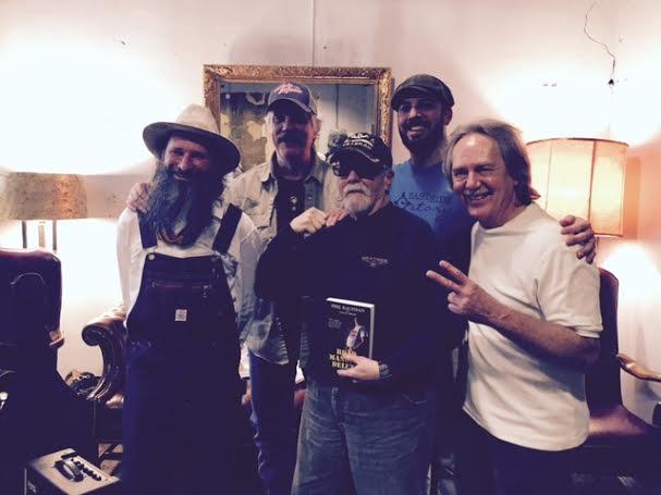 Sergio Webb, Rob Matson, Phil Kaufman, Chuck Beard, and Tom Eizonas
