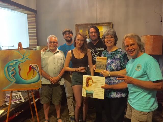 John Cannon, Chuck Beard, Tanya Montana Coe, Shane Tutmarc, Linda Barnickel, and Tom Eizonas