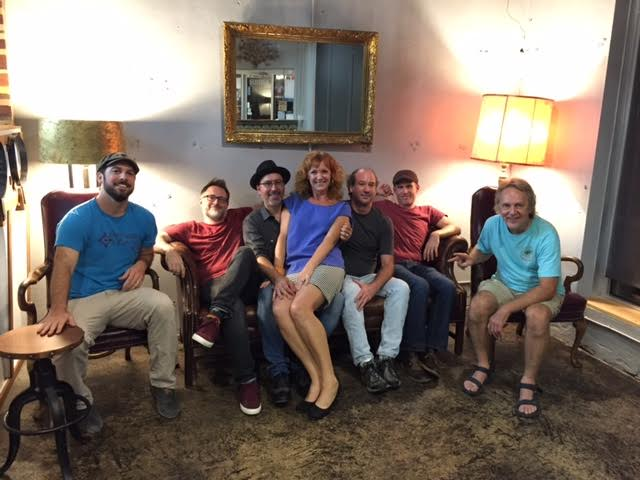 Chuck Beard, Brian Rogers, Tony Keats, Jennifer Justus, Kyle Walsh, Brian Pitts, and Tom Eizonas