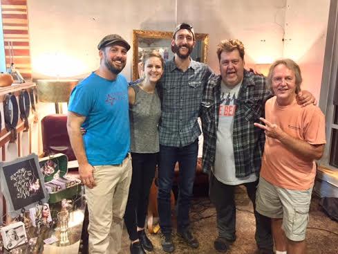 Chuck Beard, Jessica Martindale, Kyle Martindale, Dave Eastman, and Tom Eizonas